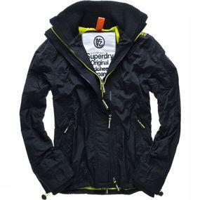 Jas Technical Pop-Zip Windcheater