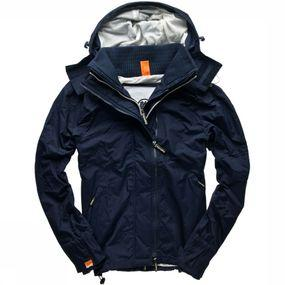 Jas Hooded Technical Pop-Zip Windcheater