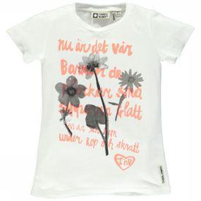 T-Shirt Flower Text