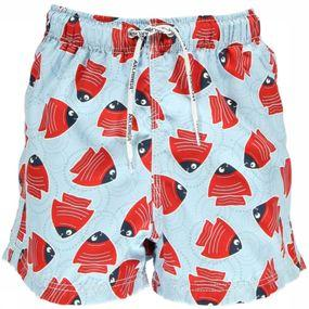 Zwemshort Fishy Red Boxer