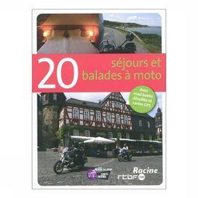 Reisgids 'Moto 20 séjours et balades à moto'