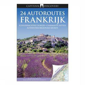 Discovery 24 autoroutes in Frankrijk + kaart
