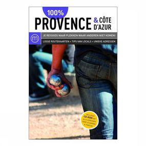 Reisgids 100% Provence & Côte d'Azur + CD-rom
