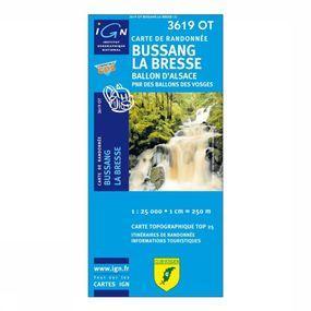 Wandelkaart Bussang La Bresse / PNR Ballons des Vosges