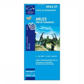 Wandelkaart Arles / PNR de Camargue