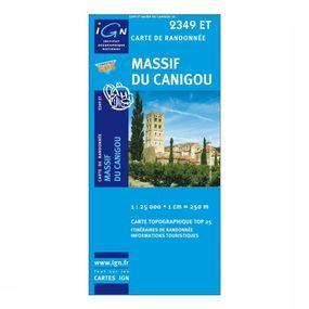 Wandelkaart Massif Du Canigou