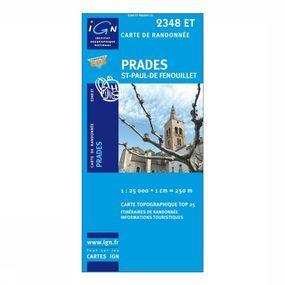 Wandelkaart Prades / St-Paul-de-Fenouillet