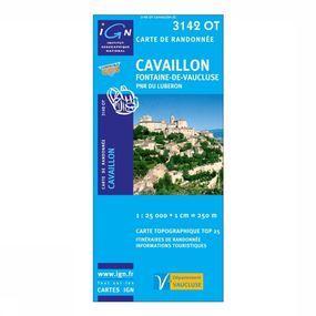 Wandelkaart Cavaillon / Fontaine-de-Vaucluse / PNR du Luberon