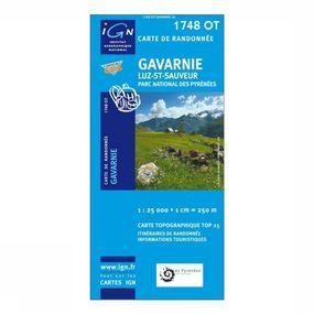 Wandelkaart Gavarnie / Luz-St-Sauveur / PNR des Pyrénées