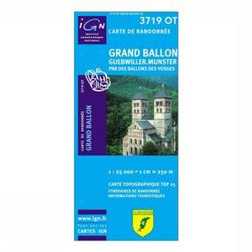 Wandelkaart Grand-Ballon / Munster