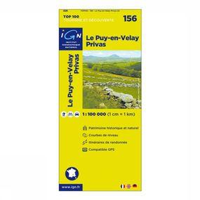 Carte Le Puy-en-Velay / Privas