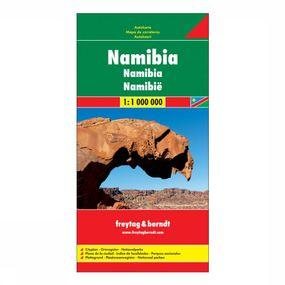 Wegenkaart Namibië