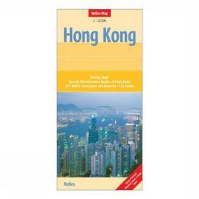 Kaart Hong Kong